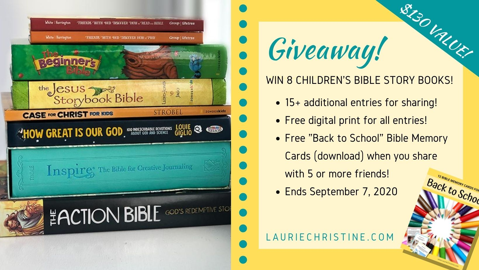 Children's Bible Story Giveaway 2020