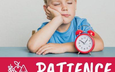 Family Fruit Challenge – Week 2 – Patience