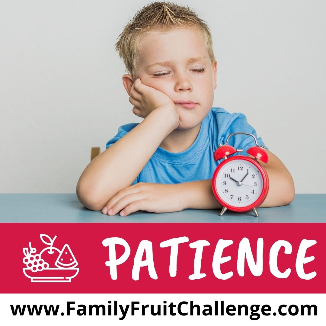 how to teach your kids about patience