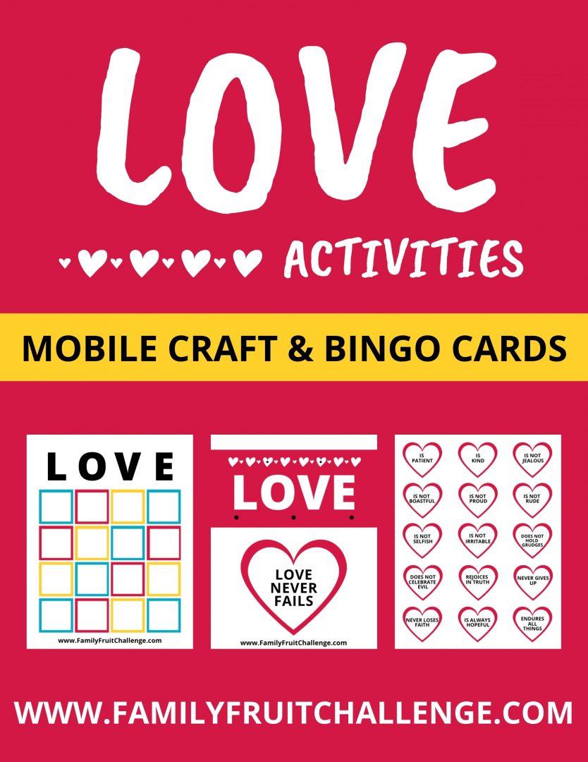 Love activities for kids