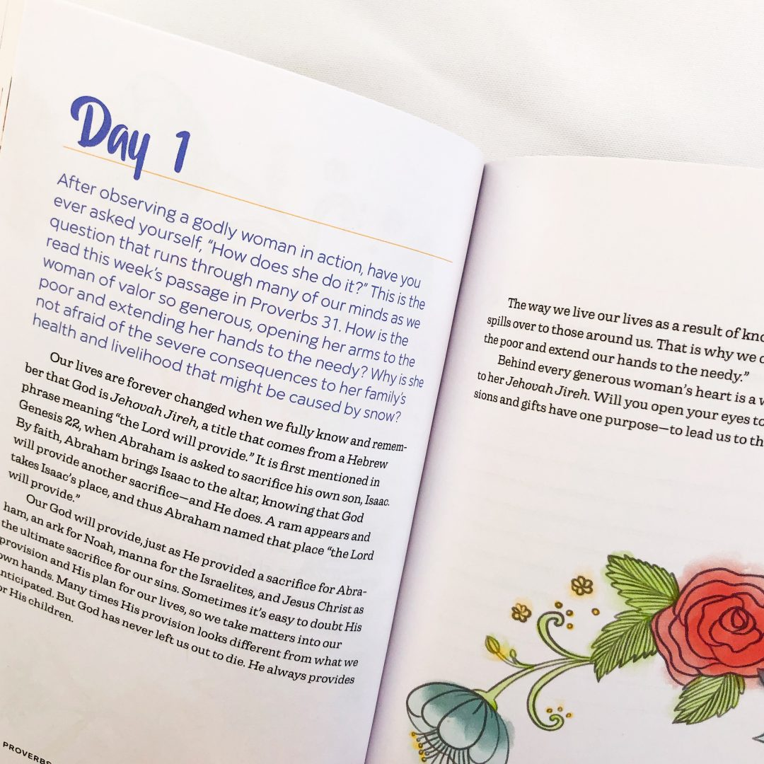 Proverbs 31 in 5 minutes a day by Mari Tuten